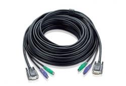 2L-1010P/C — КВМ-кабель с интерфейсами PS/2, VGA (10м)