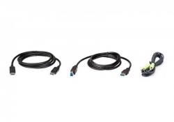 2L-7D02UDPX3 — Комплект кабелей KVM USB DisplayPort 2 м