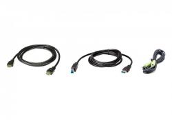 2L-7D02UHX3 — Комплект 1,8-метровых USB-HDMI KVM-кабелей