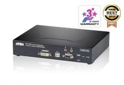 KE6900T-AX-G Передатчик KVM-удлинителя (KE6900) с передачей сигналов по TCP/IP (в среде LAN L2), поддержкой 1-го монитора и интерфейсами USB, DVI-I, аудио, RS-232