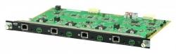 VM7514-AT — 4-х портовая плата входа A/V сигналов HDMI, использующая технологию HDBaseT