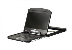 CL3700N (CL3700NW-ATA-RG и CL3700NX-ATA-RG) — KVM-консоль высотой 1U для установки в узкую стойку. С интерфейсами USB, HDMI, функционалом Single Rail и поддержкой подключения USB периферии