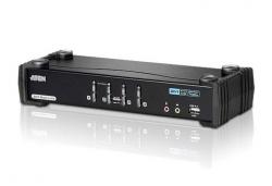 CS1784A-AT-G 4-х портовый DVI-I  Dual Link  USB-переключатель  KVMP-переключатель (KVM Switch)