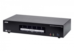 4-портовый 4K KVMP™-переключатель CS1964 с поддержкой трех дисплеев и интерфейсом USB3.0, DisplayPort