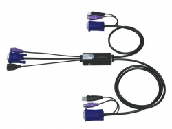 CS52-A7 — 2-х портовый VGA PS/2 USB гибридный ™ KVM переключатель.