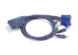 CS62U-A7 — 2-х портовый VGA USB KVMP-переключатель