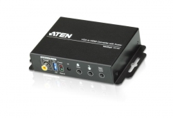 VC182-AT-G — Конвертер VGA в HDMI с функцией масштабирования.