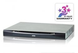 KN2140VA-AX-G 40-портовый 3-х консольный KVM-переключатель (KVM Switch) KN2140VA с доступом по IP и поддержкой 1-локальной/2-удаленных консолей доступа