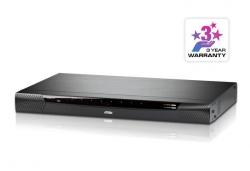 KN1108VA-AX-G 8-портовый переключатель серии KVM Over the NET™(IP KVM Switch) с доступом двух независимых пользователей (1 локального и 1 удаленного)