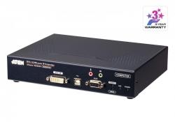 KE6900AT —      KVM KVM-удлинители KE6900AT   DVI-I KVM-удлинитель с доступом по IP и поддержкой одного дисплея (передатчик)