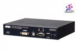 KE6920T-AX-G— 2K DVI-D Dual Link KVM-удлинитель с доступом по IP и двумя слотами SFP (передатчик)
