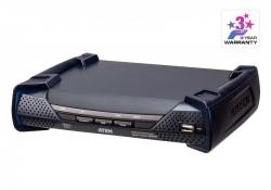 KE6940AR — DVI-I KVM-удлинитель с доступом по IP и поддержкой двух дисплеев (приемник)