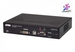RCMDVI00AT — DVI-I KVM-удлинитель с доступом по IP с поддержкой одного дисплея и специальными функциями удаленного управления (передатчик)