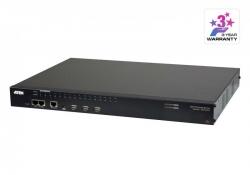 SN0132CO-AX-G — 32-портовый консольный сервер с двумя блоками питания/LAN для подключения устройств с последовательным интерфейсом