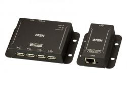 UCE3250-AT-G 4-портовый USB 2.0-удлинитель по кабелю Cat 5 (до 50 м)