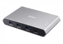 US3342 —  2-портовый коммутатор для совместного использования устройств с портом USB-C Gen 2 и функцией сквозной передачи питания