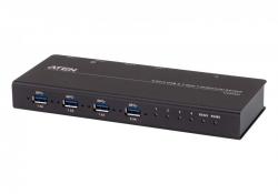 US3344I —  4-портовый USB 3.1 Gen1 промышленный коммутатор для совместного использования 4-х периферийных устройств