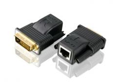VE066-AT — Мини удлинитель DVI по кабелю Cat 5 (1080p @ 15м/1080i @ 20м)