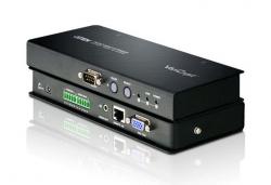 VE500-AT-G — Удлинитель VGA, Аудио и RS-232 по кабелю Cat 5