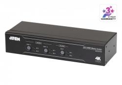 VM0202HB — Матричный HDMI-коммутатор 2x2 True 4K с функцией извлечения звука