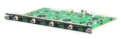 VM7404-AT — 4-х портовая плата входа A/V сигналов с интерфейсом SDI