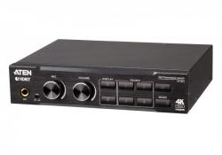 VP1421 — 4 x 2 True 4K презентационный матричный коммутатор с масштабатором, звуковым процессором и HDBaseT-Lite
